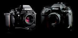 Nikon F4s vs Nikon F5