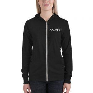 Contax Unisex zip hoodie