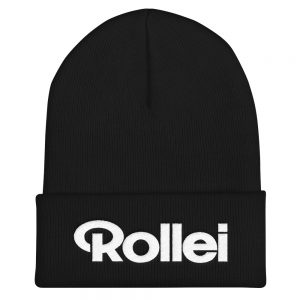 Rollei Embroidered Cuffed Beanie