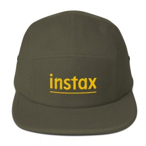 Instax Embroidered Five Panel Cap