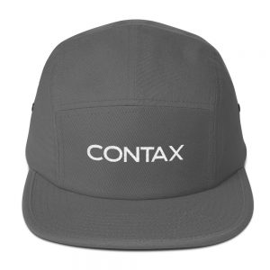 Contax Embroidered Five Panel Cap