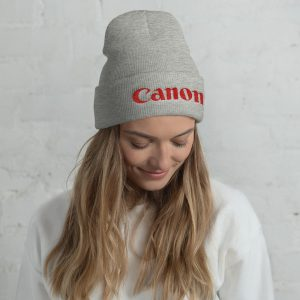 Canon Embroidered Cuffed Beanie