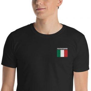 Italia Photog Embroidered T-Shirt