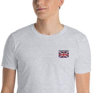 British Embroidered Unisex T-Shirt