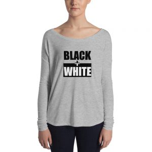 B+W Ladies' Long Sleeve Tee