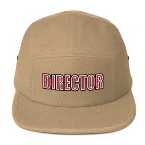 Director Embroidered Five Panel Cap