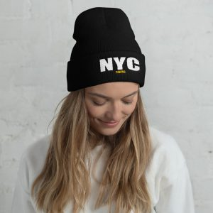 NYC Photog Embroidered Beanie